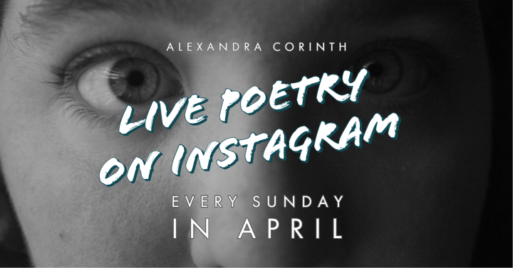 Announcing: Live Poetry on Instagram